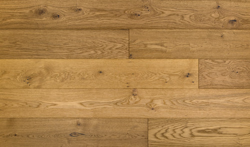 "Urban Floor Chene Chardonnay 1/2"" X 7 1/2"" European Oak Wire Brushed Engineered Hardwood"