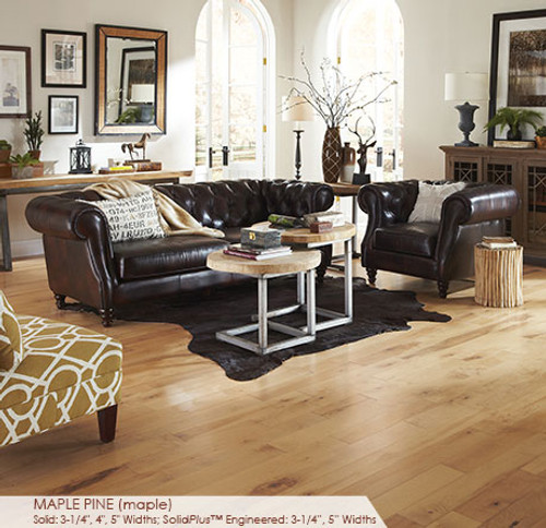 Somerset Character Collection Engineered Plank Maple Pine 3 1/4""
