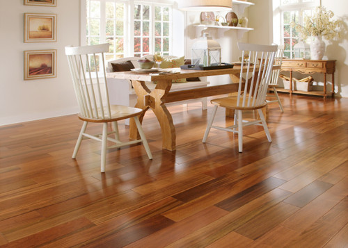 "Triangulo Brazilian Cherry 1/2"" x 5 1/4"" Engineered Hardwood"