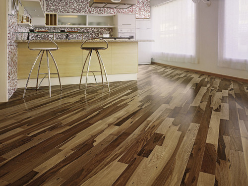 "Triangulo Brazilian Pecan 1/2"" x 5 1/4"" Engineered Hardwood"