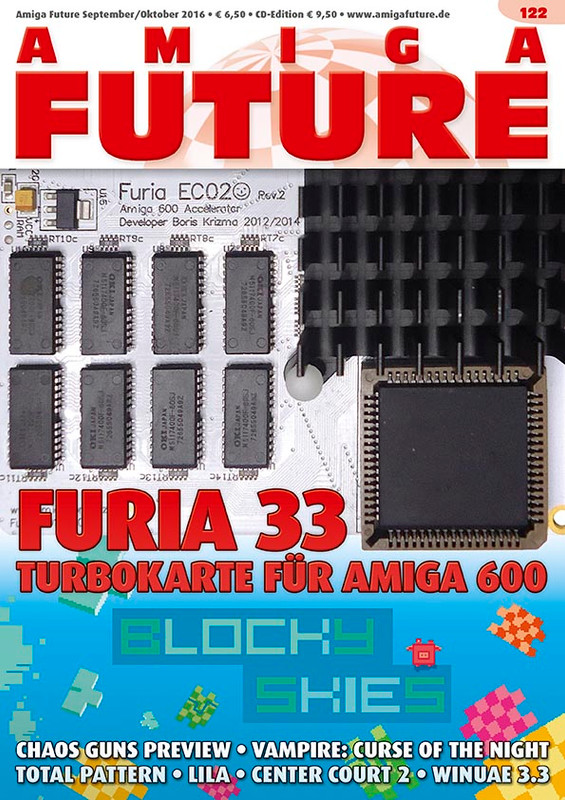 "1 Year Subscription to AmigaFuture (6 Issues with CD) ""English Language"""