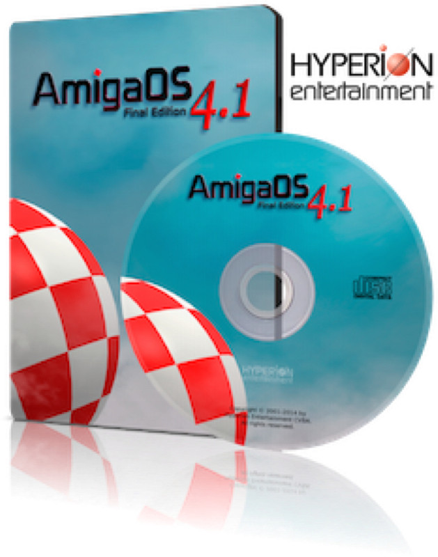 Copy of AmigaOS 4.1 Final Edition Pegasos 2