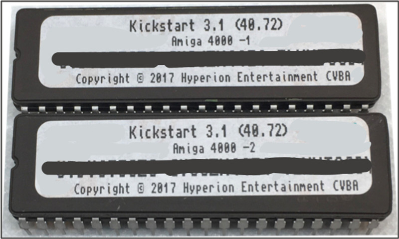 3.1 Kickstart ROM (40.72)  A4000