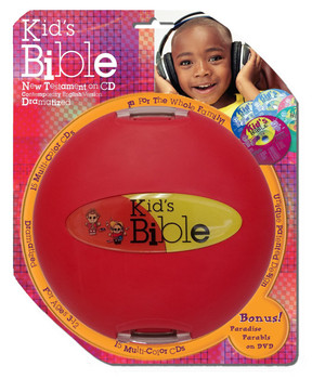 Kid's New Testament - CEV Bible Stories (CD) with Bonus