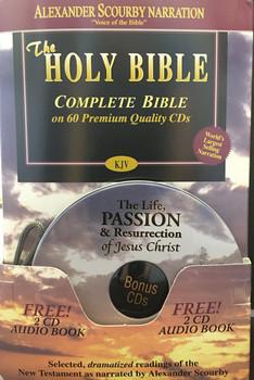 KJV Complete (CD) with Bonus CDs