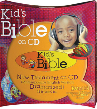 Kid's Bible New Testament (CD) 327 Stories and 100 Songs