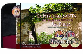 La Historia Santa Los Pasajes Mas Bellos de la Biblia Santa (CD)