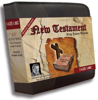 """KJV New Testament """"Special Edition"""" (MP3/CD)"""