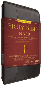 NASB Complete Bible - Special Edition (MP3/CD)