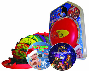 CEV Kids Bible - Christmas Edition (MP3/CD/DVD) Gift Set
