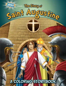 Coloring Book: The Story of Saint Augustine