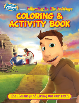 Coloring and Activity Book: Following in His Footsteps