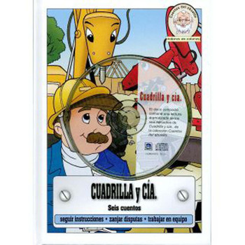 Cuadrilla y Cia (CD, DVD, and Book) Set