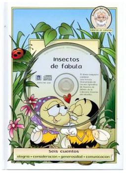Insectos de Fabula (CD, DVD, and Book) Set