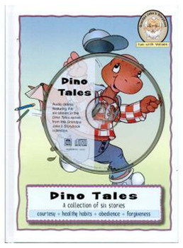 Dino Tales (CD, DVD, and Book) Set