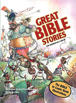 Great Bible Stories (Comic Book Bible - for Children Age 5 and up) Hardcover