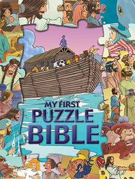 My First Puzzle Bible (Jigsaw Puzzle Bible for Young Kids)