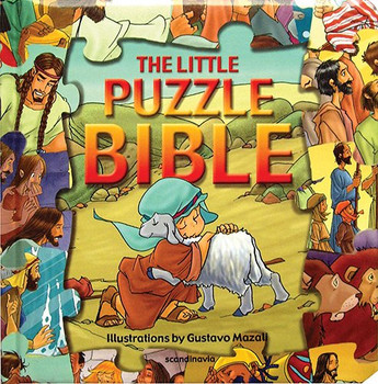 The Little Puzzle Bible  (Jigsaw Puzzle Bible for Young Kids)