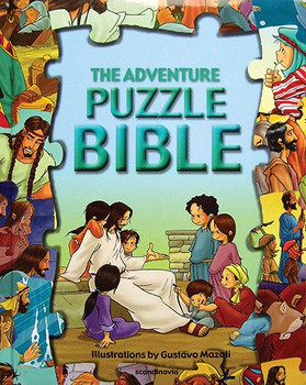 The Adventure Puzzle Bible (Jigsaw Puzzle Bible for Young Kids)