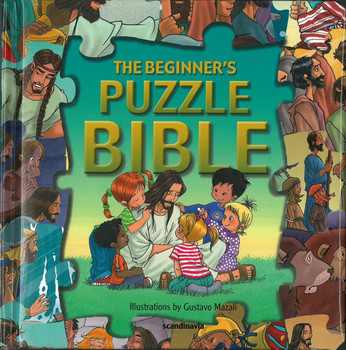 The Beginner's Puzzle Bible (Jigsaw Puzzle Bible for Young Kids)