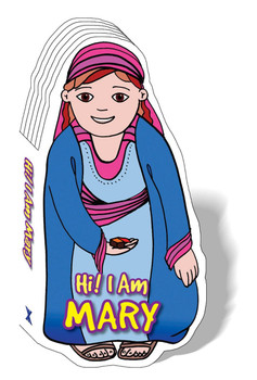 Hi! I am Mary (Bible Figure Books)