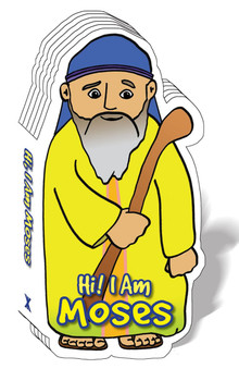 Hi! I am Moses (Bible Figure Books)