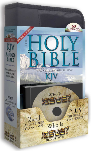 KJV Complete Bible - Special Edition (MP3/CD)
