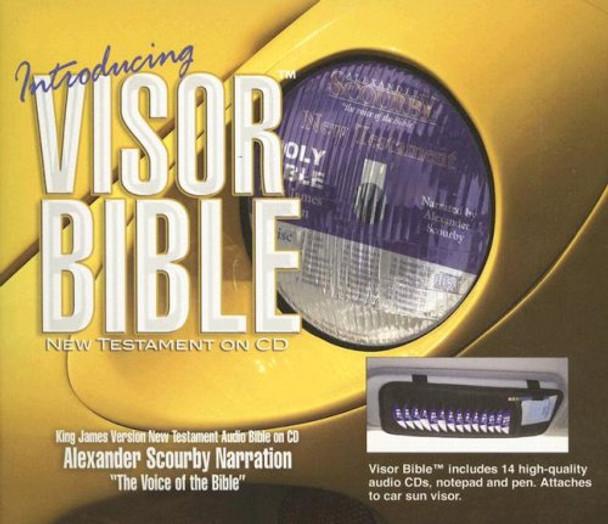 """KJV New Testament by Scourby (CD) """"Visor Bible"""""""