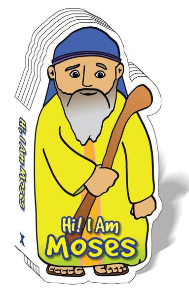 Hi! I am Moses (Bible Figure Books)