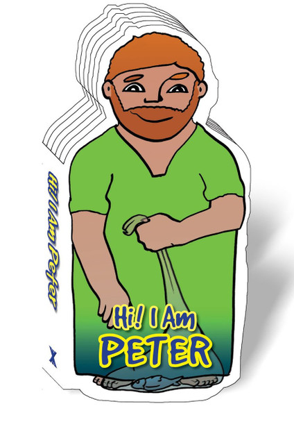 Hi! I am Peter (Bible Figure Books)
