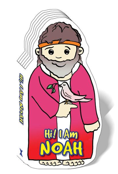 Hi! I am Noah (Bible Figure Books)