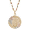 Yellow / White / Red Gold Medal - Virgen Guadalupe - 14 K - RP204