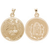Yellow Gold Medal - 2 Sides - 14 K - RP220