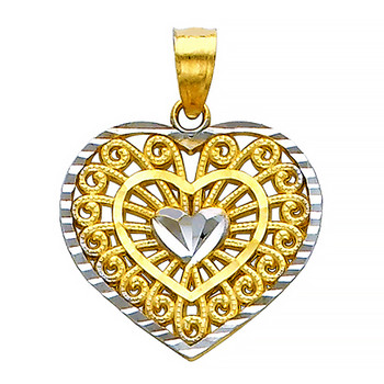 Yellow Gold Pendant - 14 K - PT430