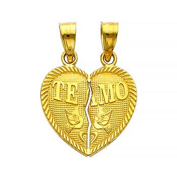 Yellow Gold Pendant - 14 K - PT410