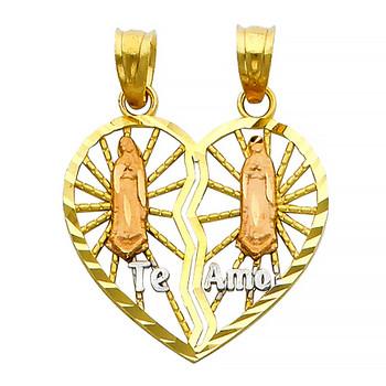 Yellow Gold Pendant - 14 K - PT403
