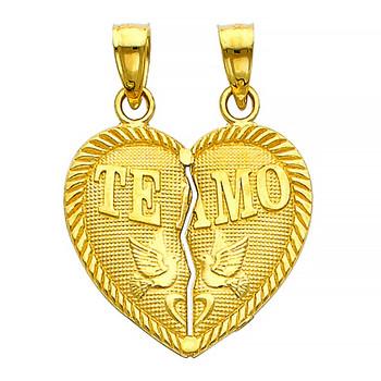 Yellow Gold Pendant - 14 K - PT409
