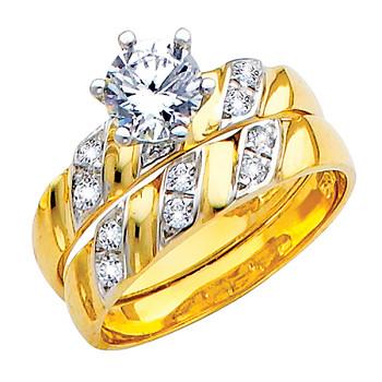 Engagement Ring / Wedding Band 14K  4.5 gr. - RG148
