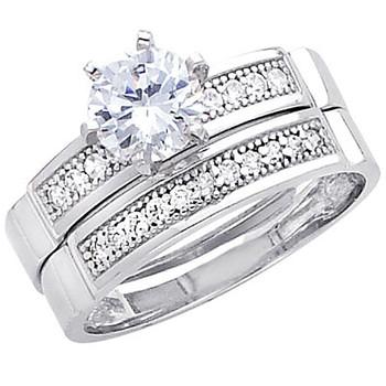 Engagement Ring / Wedding Band 14K  5.0 gr. - RG230
