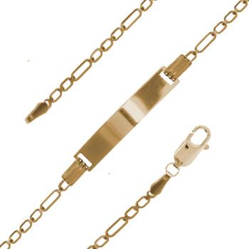 Yellow Gold Bracelet - 2.0 gr - BLG-634