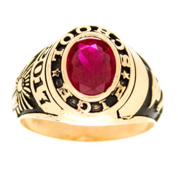 Graduation Ring / Yellow Gold - 5.7 Gr. - GDR-322