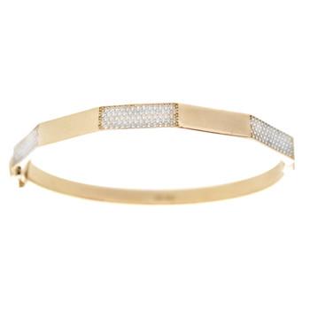 Yellow Gold Bracelet with CZ gr - BLG-707
