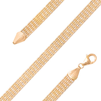 Yellow Gold Bracelet  - BLG754