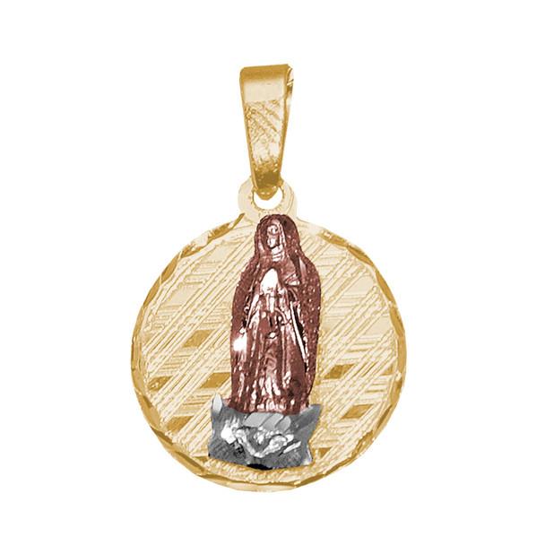 Yellow / White / Red Gold Medal - Virgin Mary - 1.2 gr - V120