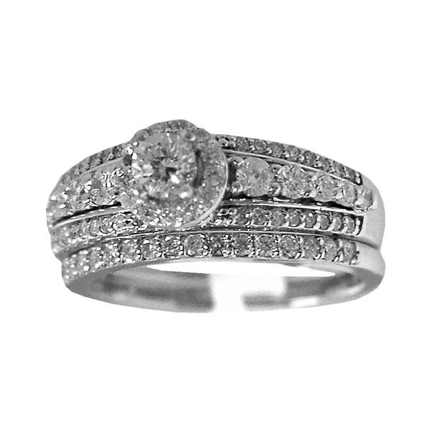 Engagement Ring / Wedding Band 14K - ERB-503