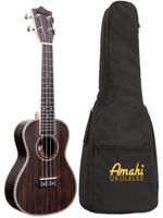 Amahi Acoustic Electric Concert Rosewood Ukulele