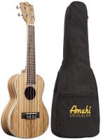 Amahi Classic Zebrawood UK330C (concert)
