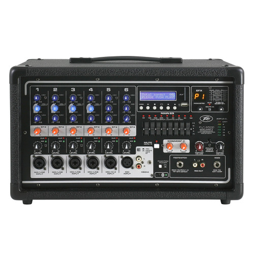 Peavey PVi® 6500 Powered Mixer