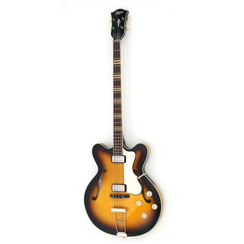 Hofner Verythin Bass - CT - Sunburst Contemporary Series