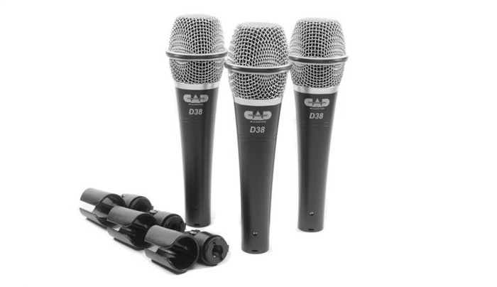 CAD Audio D38X3 Microphones